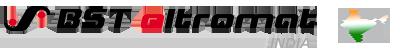 BST eltromat India Logo in Tri Colour