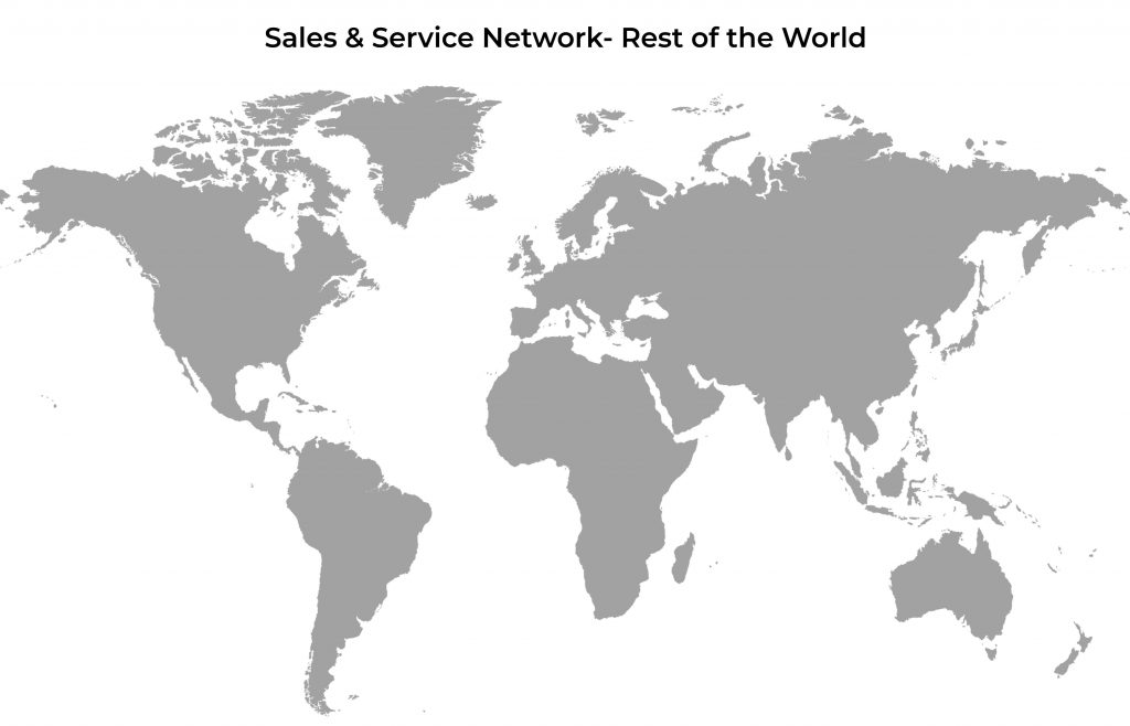 BST eltromat India Sales & Service Network Rest of the World