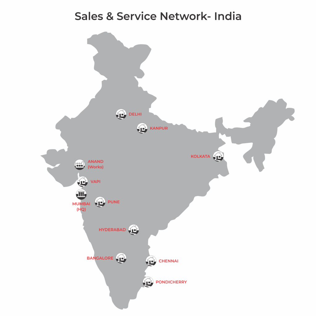 Sales & Service Network- BST eltromat India