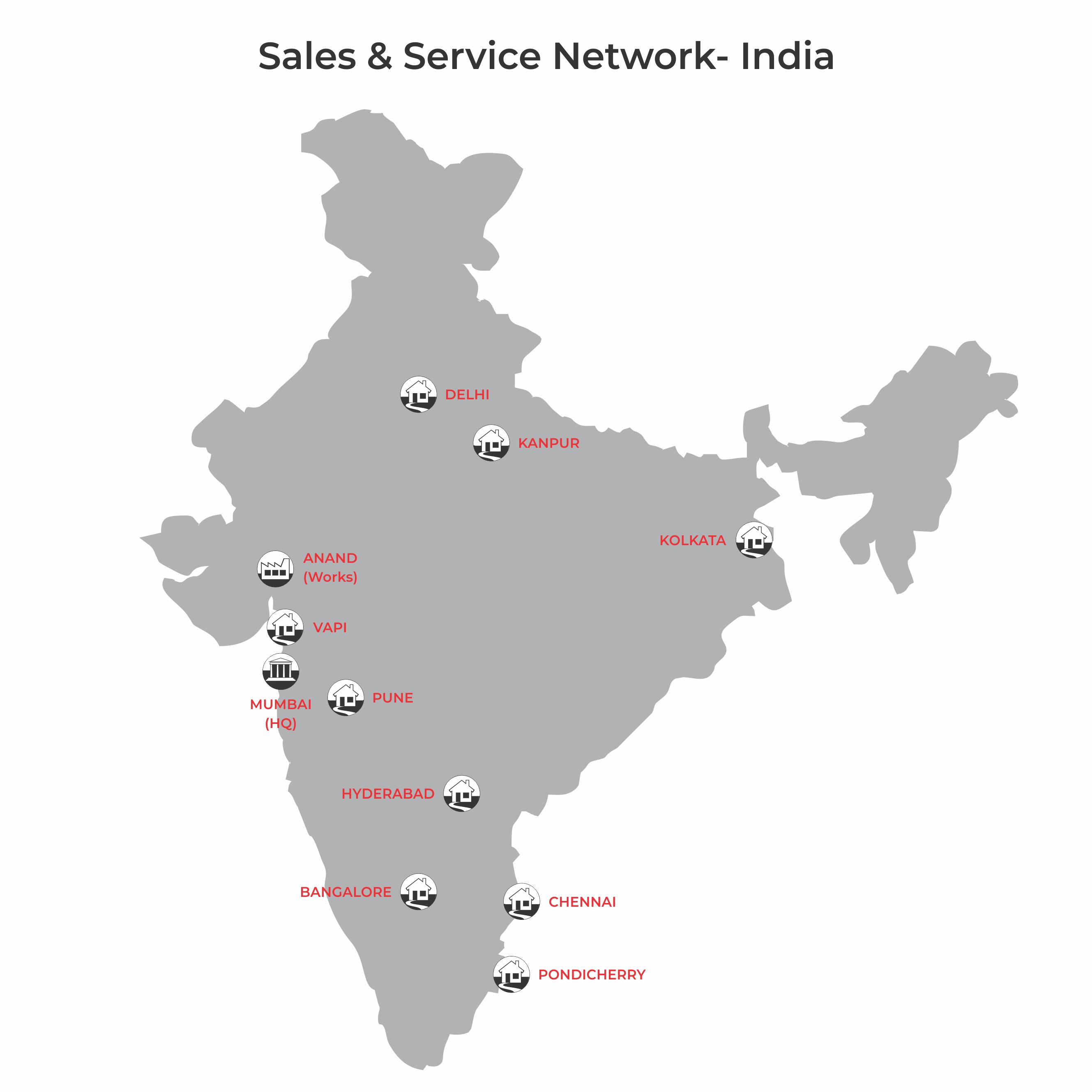 Sales & Service Network- BST eltromat India